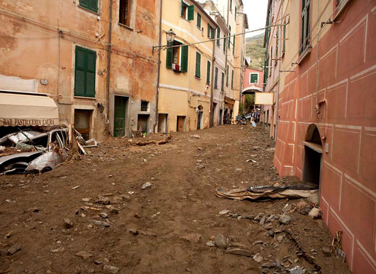 Mud And Beauty In The Cinque Terre
