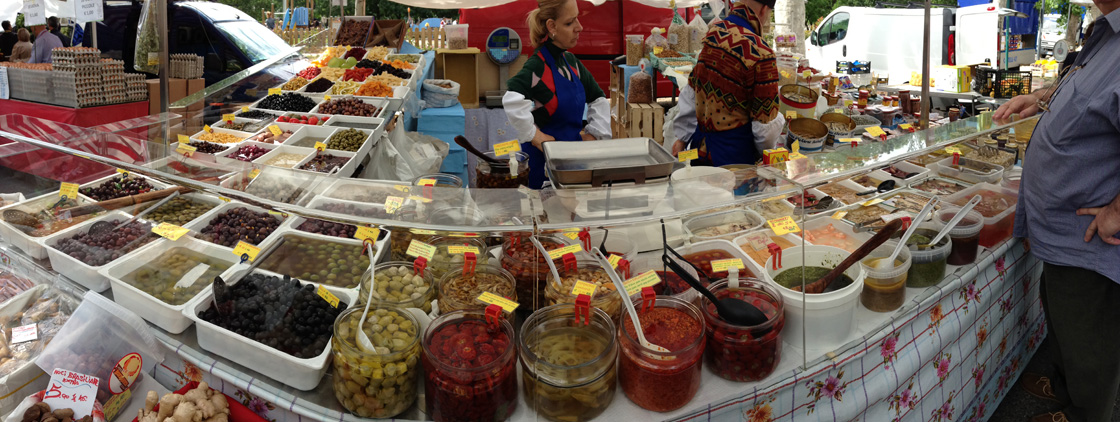 Olives, pickles foods, dried fruits.